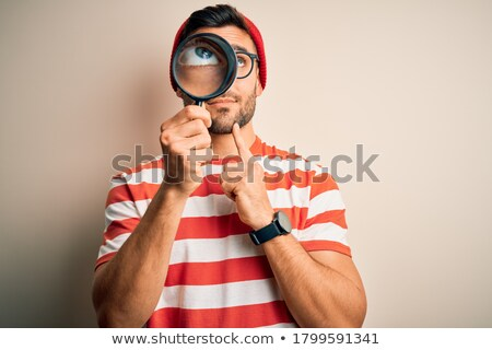 Magnifying Glass - Thinking Stock photo © kbuntu