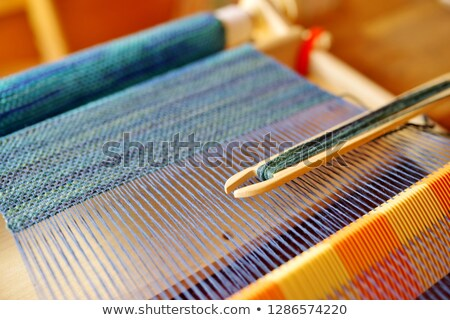 loom weaving Stock photo © devon