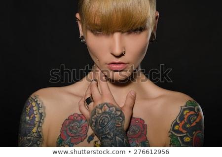 Woman with tatoo Stock photo © Amaviael