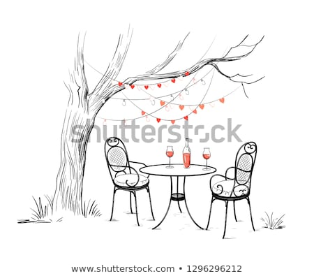 Valentine árvore corações eps vetor arquivo Foto stock © beholdereye