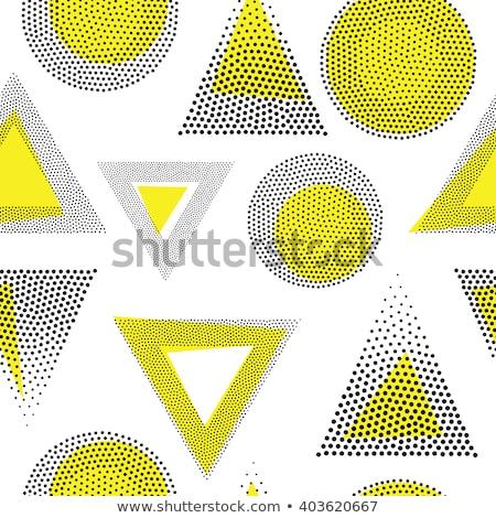 Geometrik desen 3D vektör Internet soyut Stok fotoğraf © christina_yakovl