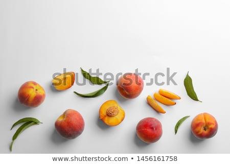 ingredients peaches stock photo © dizski