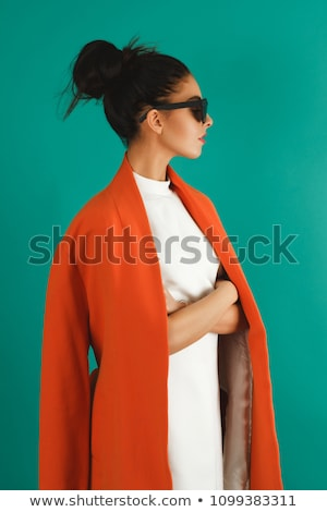 Stok fotoğraf: High Fashion Editorial Concept With A Beautiful Woman