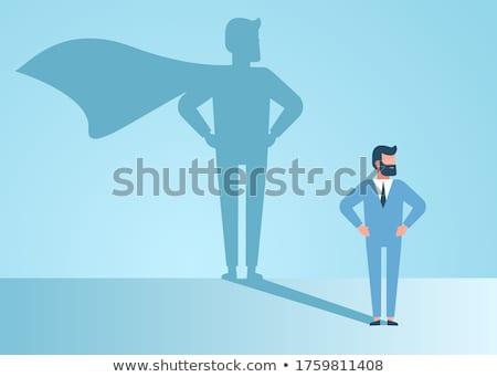 Stockfoto: Knap · jonge · zakenman · business · oog · man