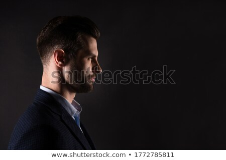 Stylish portrait of company ceo over white Stock photo © stockyimages