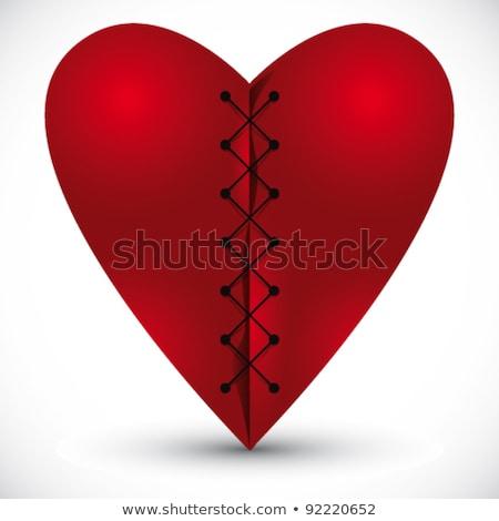 сердце крест потока свадьба аннотация медицинской Сток-фото © Sylverarts