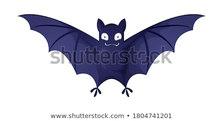 Cartoon cute peu vampire visage enfant Photo stock © AnnaVolkova
