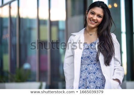 Smiling Latina Woman Stock photo © keeweeboy