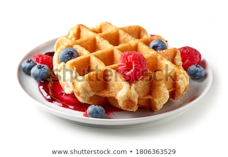 Wafers are isolated on a white background. stock photo © shutswis