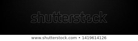 absztrakt · fémes · fekete · átfúródás · mintázott · sablon - stock fotó © Ecelop