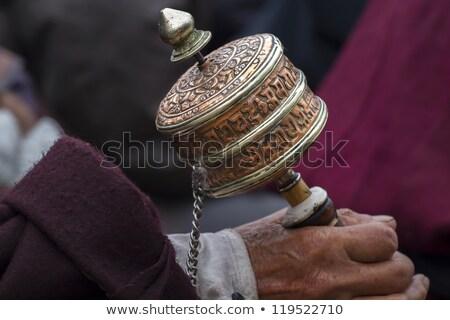 Budist dua tekerlek Hindistan Tanrı Stok fotoğraf © haraldmuc
