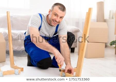 craftsman smiling Stock photo © photography33