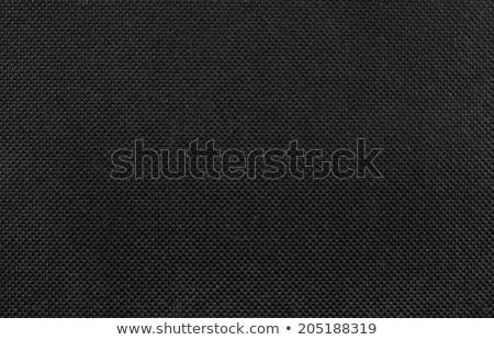 Seamlessly black fabric texture closeup background. Stock photo © Leonardi