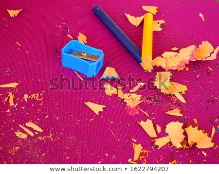 abstract background from the remnants of pencil crayons Stock photo © RuslanOmega