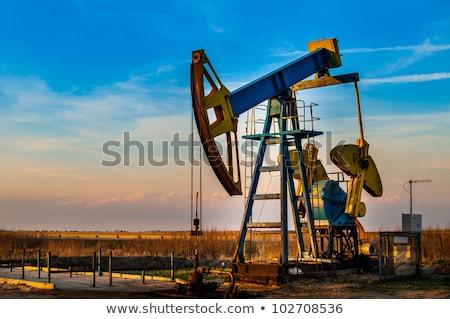 Stok fotoğraf: Working Oil Pumps