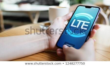 Smartphone LTE Stock photo © limbi007