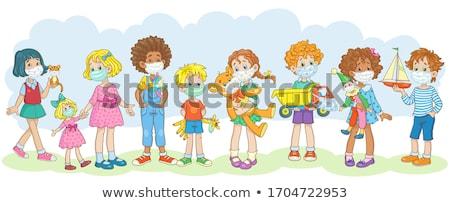 Preschool and kindergarten kid toys Stock photo © Lightsource