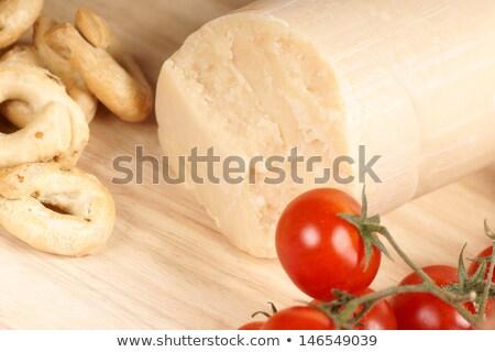 Queijo parmesão tomates cereja verde Foto stock © aladin66