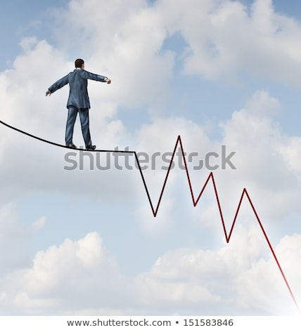 Stockfoto: Losing Profit Risk