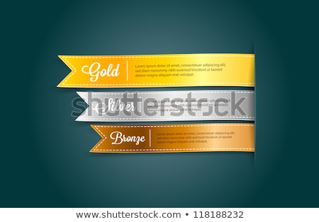 Bronze vetor esportes dom sucesso Foto stock © burakowski
