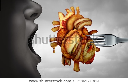 Dangerous Heart Diet Stock photo © Lightsource