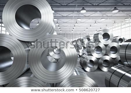 sheet metal rolls stock photo © mady70