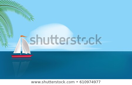 sailing around islands stock photo © trala