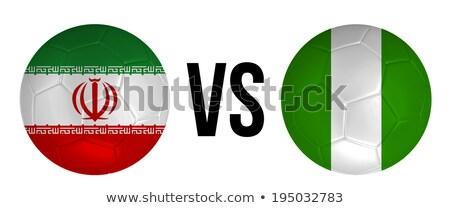 IRAN vs NIGERIA Stock photo © smocker03