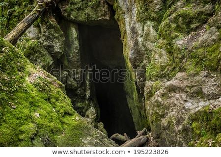Checo naturales patrimonio agujero arroyo pueblo Foto stock © Kayco