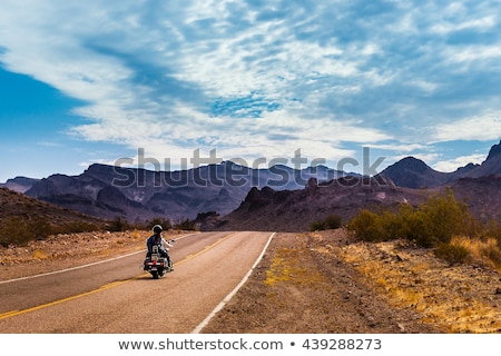 motorcyclist on route Stock photo © 26kot