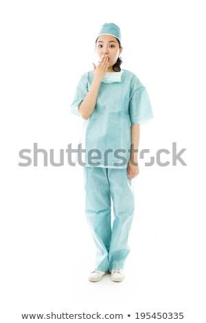 医師 · 外科医 · 女性 · 面白い · クローズアップ - ストックフォト © bmonteny