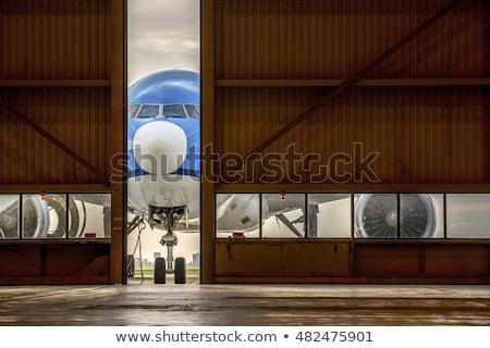 воздуха транспорт самолеты Motor небе воды Сток-фото © phbcz