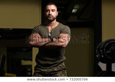 Biceps shot of a strong man stock photo © jiri_miklo