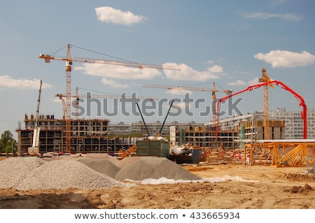 pick at a construction site stock photo © rhamm