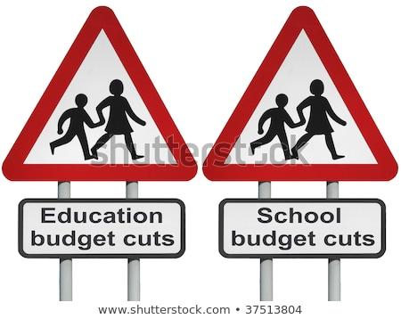 oktatás · hanyatlás · elhanyagolt · iskola · problémák · rozsdás - stock fotó © lightsource