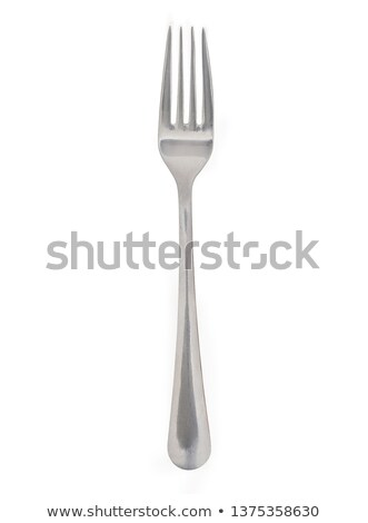 銀食器 クローズアップ フォーク 極端な 青 金属 ストックフォト © courtyardpix