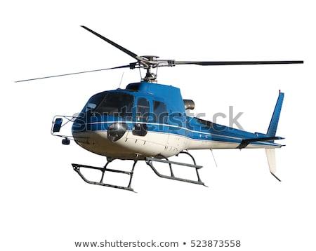 redding · helikopter · bergen · Rood · vliegen · nood - stockfoto © bsani