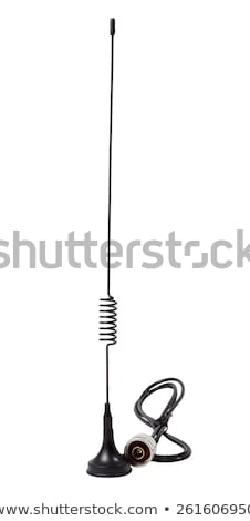 Antenne gsm standaard geïsoleerd witte technologie Stockfoto © nemalo