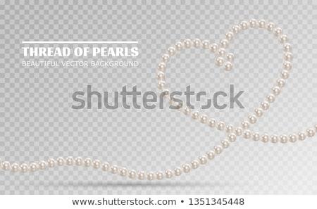 Pearl Heart Stock photo © tangducminh