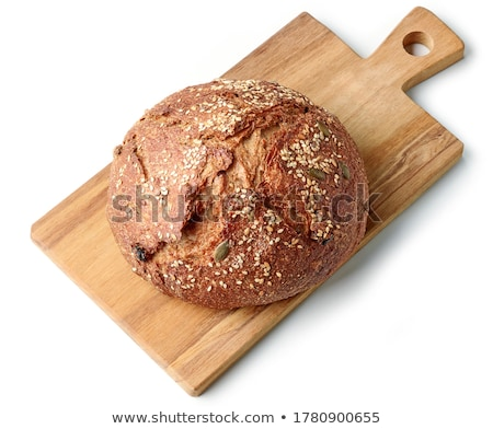 rustic artisan bread crust food background Stock photo © zkruger