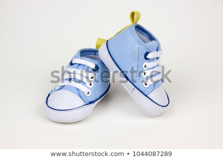 pair of blue baby shoes stock photo © ruslanomega