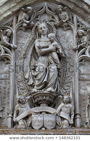capela · enterrado · França · castelo · europa · escultura - foto stock © wjarek