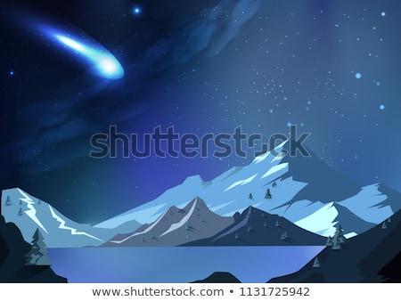 Snow Asteroid Stock photo © dengess