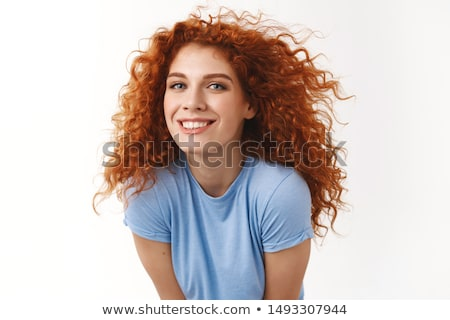 Young alluring woman Stock photo © acidgrey