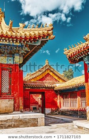 Китай · древних · здании - Сток-фото © fatalsweets