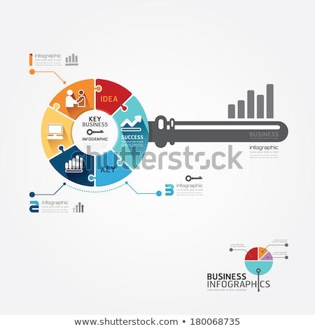 puzzel · woord · bijwerken · puzzelstukjes · bouw · technologie - stockfoto © fuzzbones0