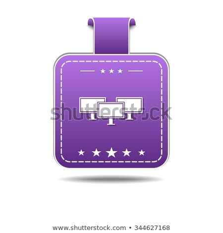 Networrk Icon Violet Vector Icon Design Stock photo © rizwanali3d
