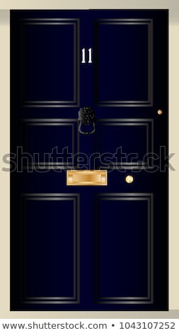 Eleven Downing Street stock photo © Bigalbaloo