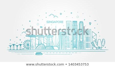 Singapore metropolitan Stock photo © joyr