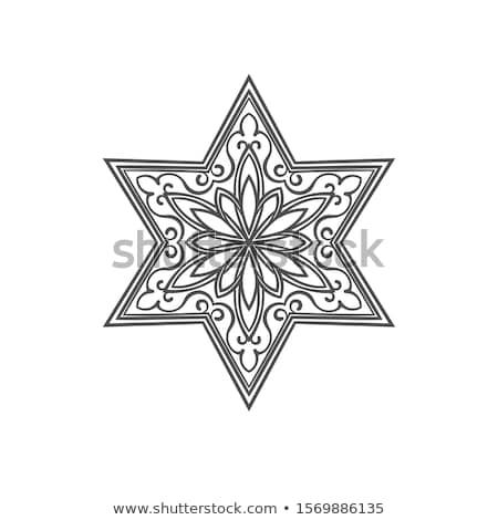 Christmass star isolated Stock photo © shutswis